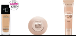 maybelline foundation matte 300x145 - Maybelline makeup products reviews